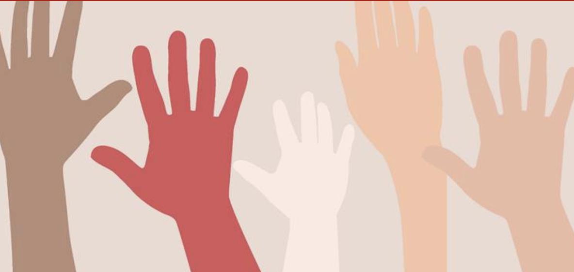 Webinar photo of hands