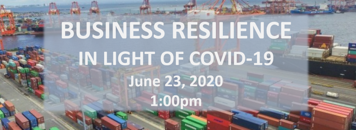 Business Resilience in Light of COVID-19