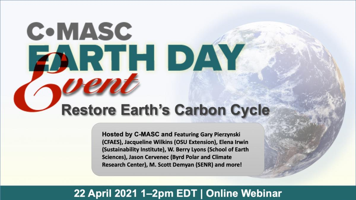 CMASC Earth Day Event April 22, 2021