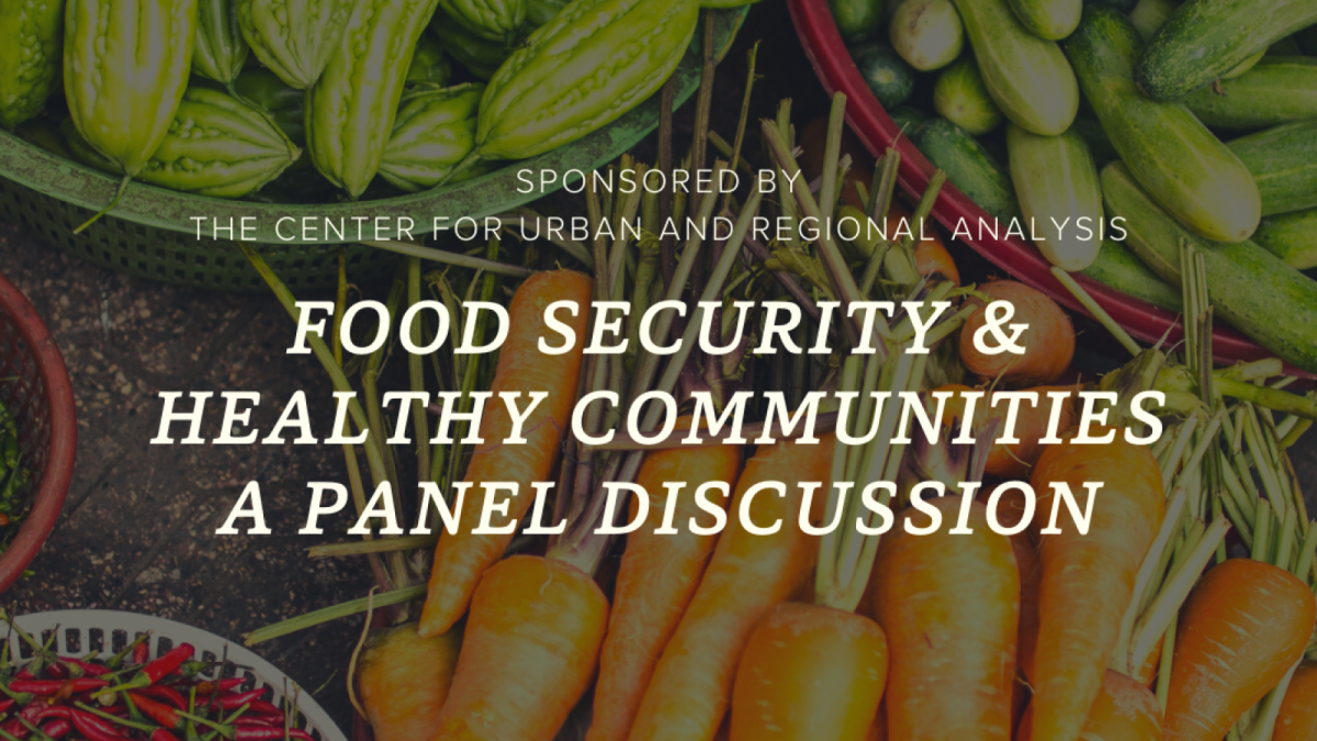 Food security panel discussion