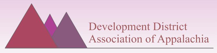 Development District Association of Appalachia