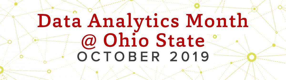 Data Analytics Month at Ohio State