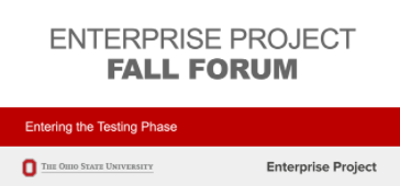 Enterprise Project Fall Forum