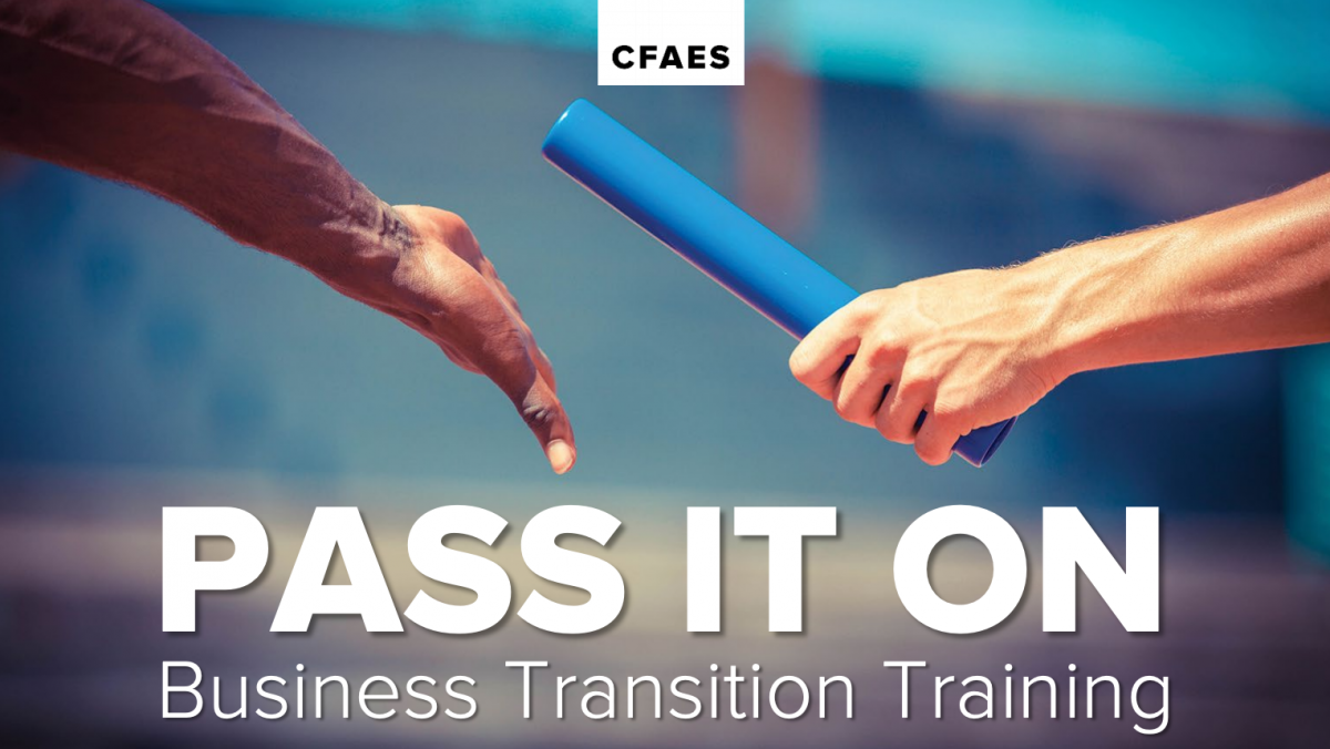 Pass it on - business transition planning