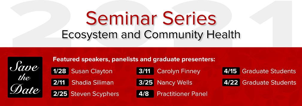 SENR Spring 2021 Seminar Series