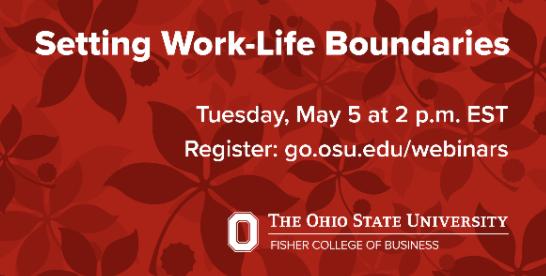 Work-Life Boundaries Webinar
