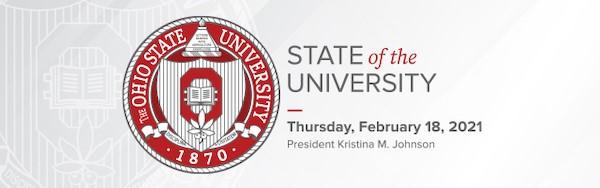State of the University address February 18, 2021