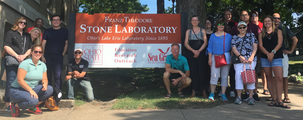 OSU Extension CD visit to Stone Lab August 2019