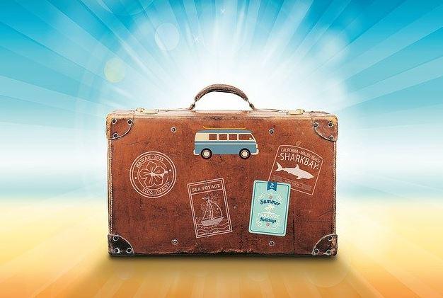 Vacation luggage