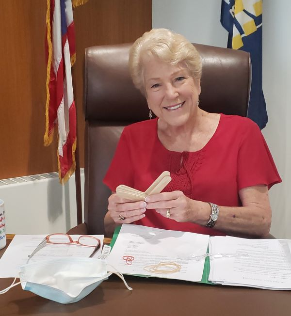 Patricia G. Geissman, Medina County Commissioner