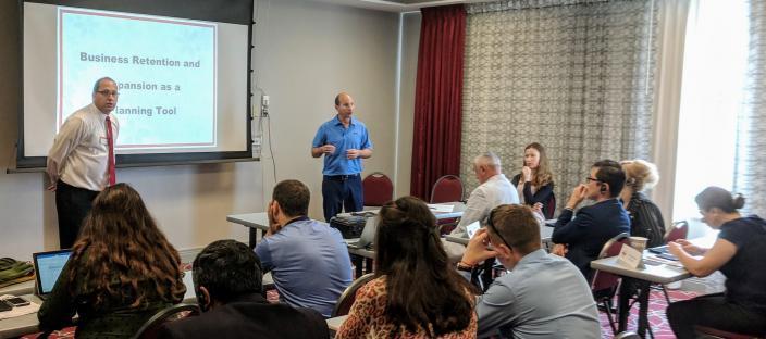 BRE presentation to Eurasion delegation