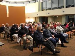 Community members participate in a community strategic planning process.