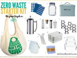 Zero waste starter kit. Credit: The Green Bicycle Co.