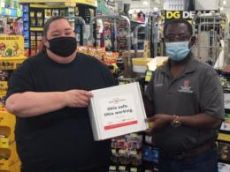 Distributing PPE in Fayette County