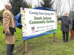 South Jackson Community Gardens ground breaking.