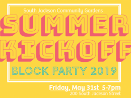 South Jackson Community Gardens Block Party
